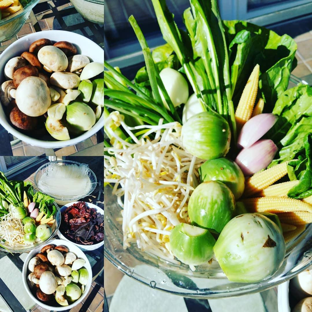 Wok de légumes façon thaïe